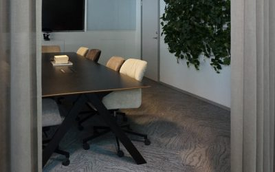 Textilplankan Oak i snyggt nytt projekt